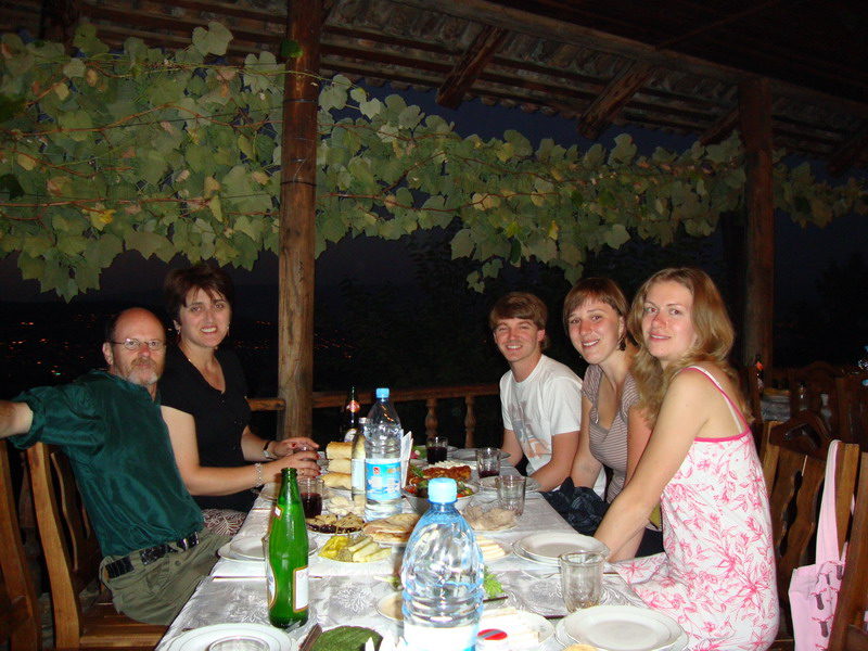 Dinner in Tbilisi2