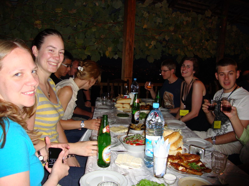 Dinner in Tbilisi3