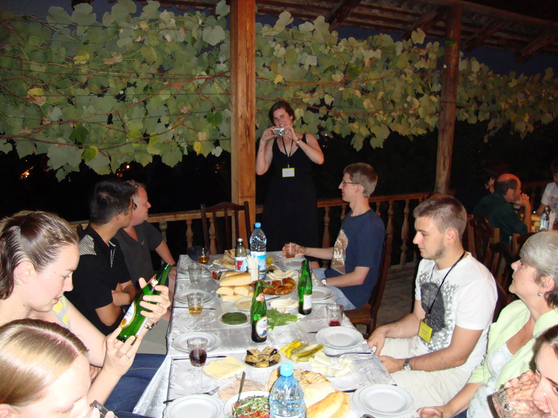 Dinner in Tbilisi4