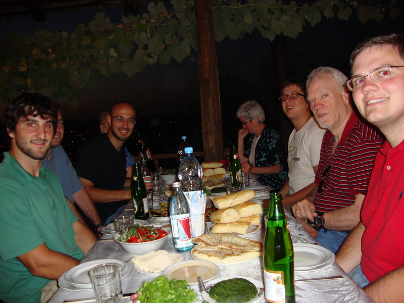 Dinner in Tbilisi6