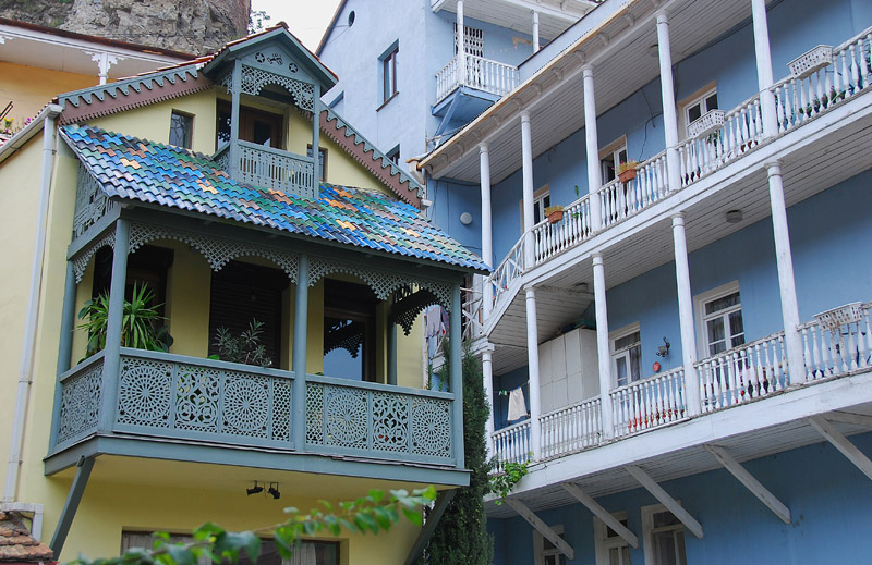Old Tbilisi Balconies