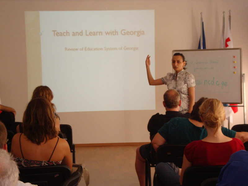Review of Education system in Georgia by project coordinator Nino Dzotsenidze
