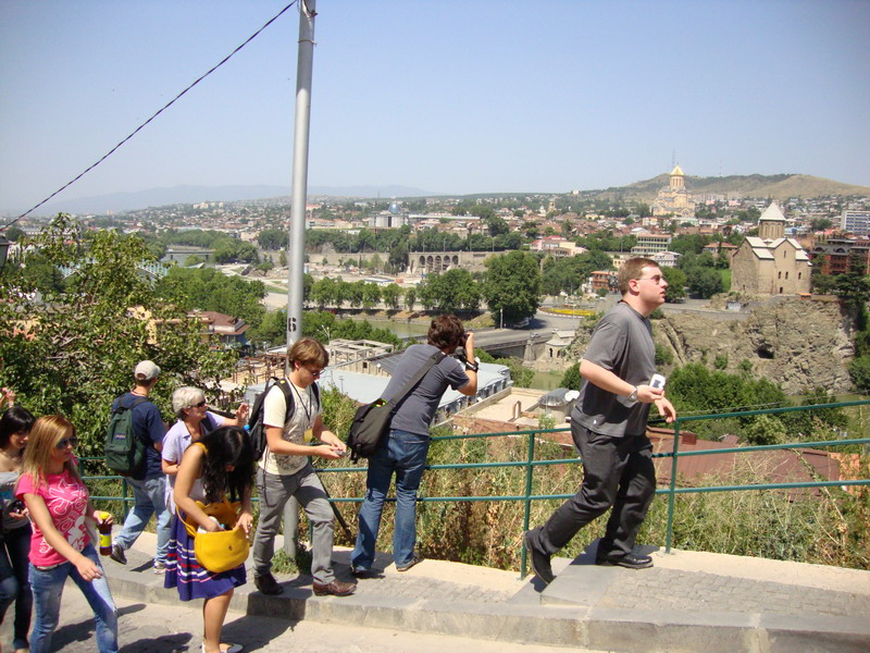 Visiting Narikala Fortress in Tbilisi2